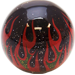 Custom Black Flame Custom Shift Knob Opaque with metal flake