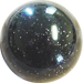 Custom Black Old Skool Series Custom Shift Knob Translucent with Metal Flake