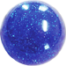 Custom Blue Old Skool Series Custom Shift Knob Translucent with Metal Flake