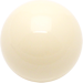 Custom White Billiard Cue Ball Custom Shift Knob Opaque