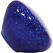 Custom Blue Retro Series Custom Shift Knob Translucent with Metal Flake